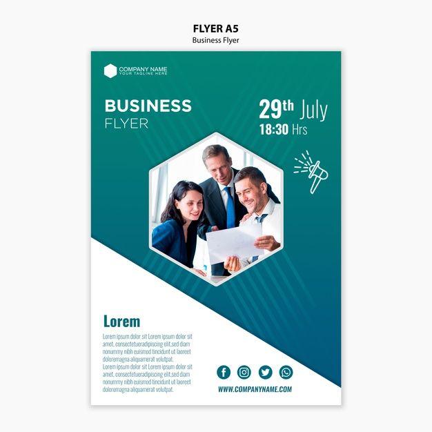 Download Business Flyer Template For Free Modele Flyer Flyer Prospectus