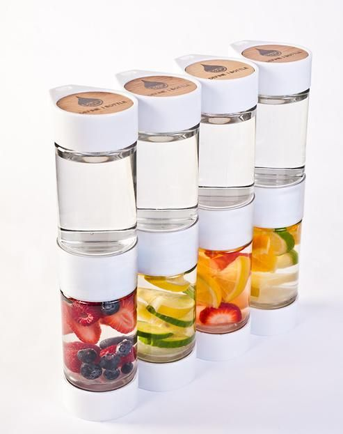 Infusion Bottle and Fruit Infusion Recipes