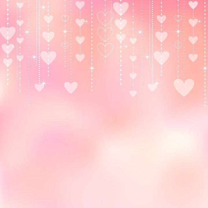 Free Image On Pixabay Valentine Background Bokeh Hearts