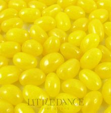 1 kilo bags of Yellow Lemon mini jelly beans for birthday parties, weddings, Yellow Lemon jelly bean party favors  & lolly bags. For sale online in Australia