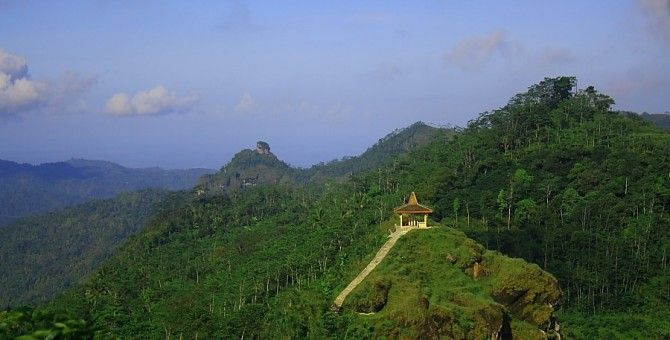 Suroloyo Peak, the Highest of Menoreh