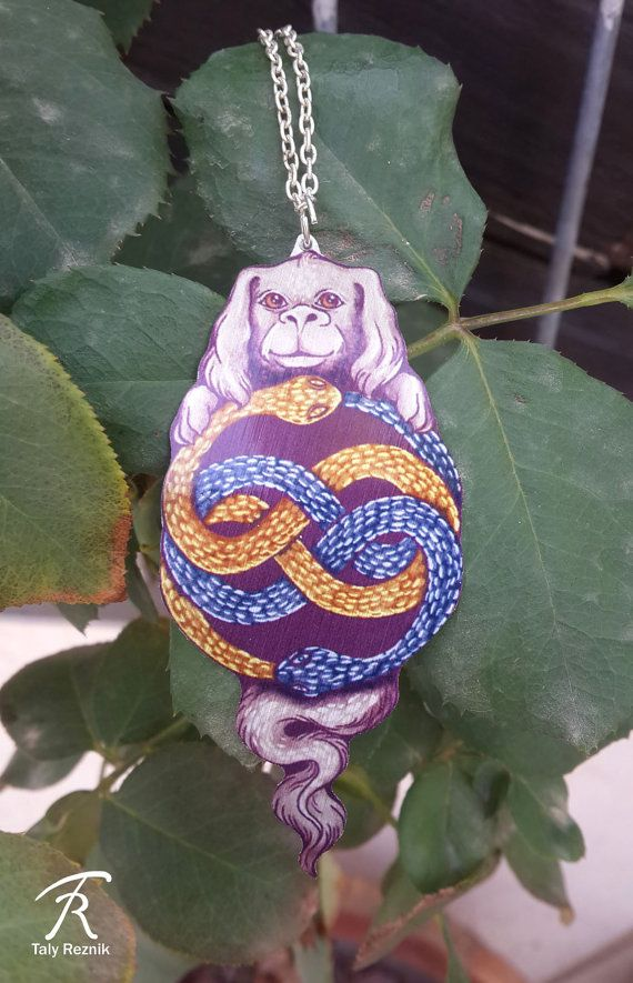 Neverending Story Auryn Amulet Gem Glory Falcor Luck by TrollWorx