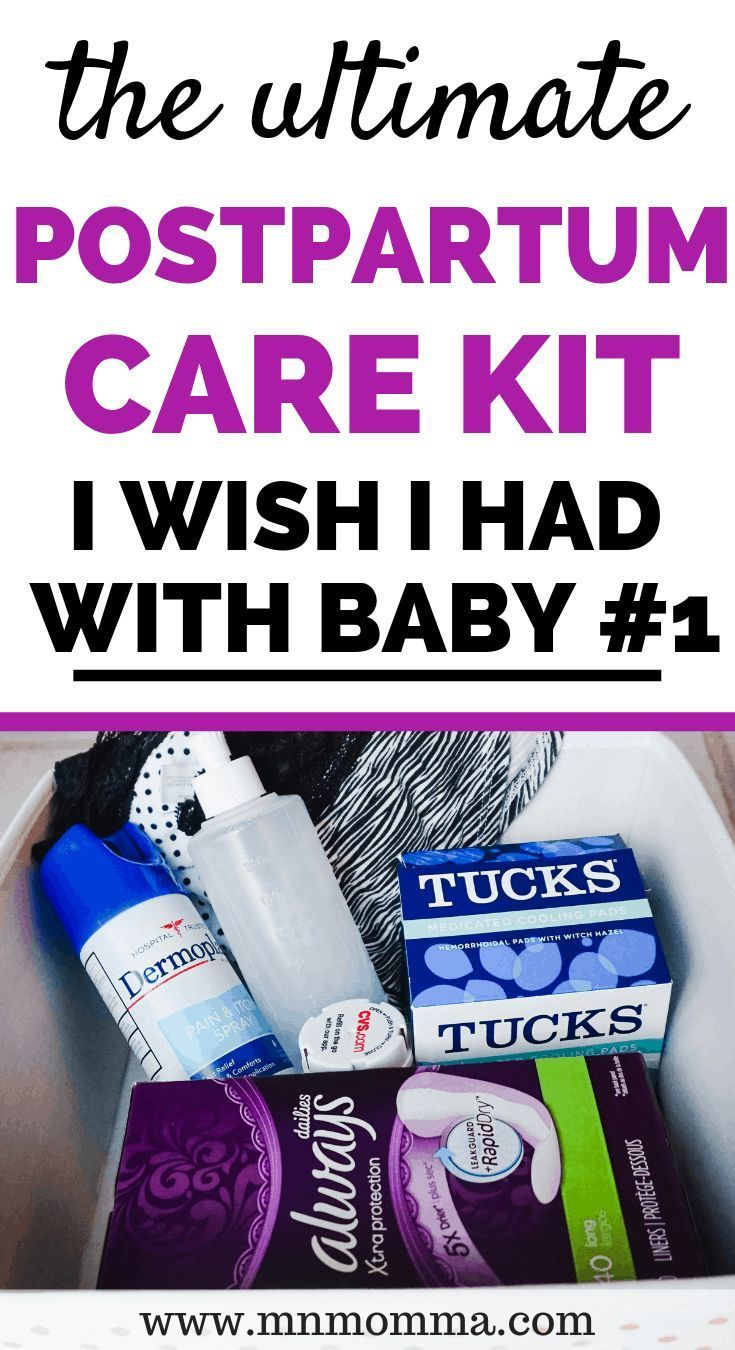 Easy Postpartum Care Kit You Can Make At Home Postpartum Care