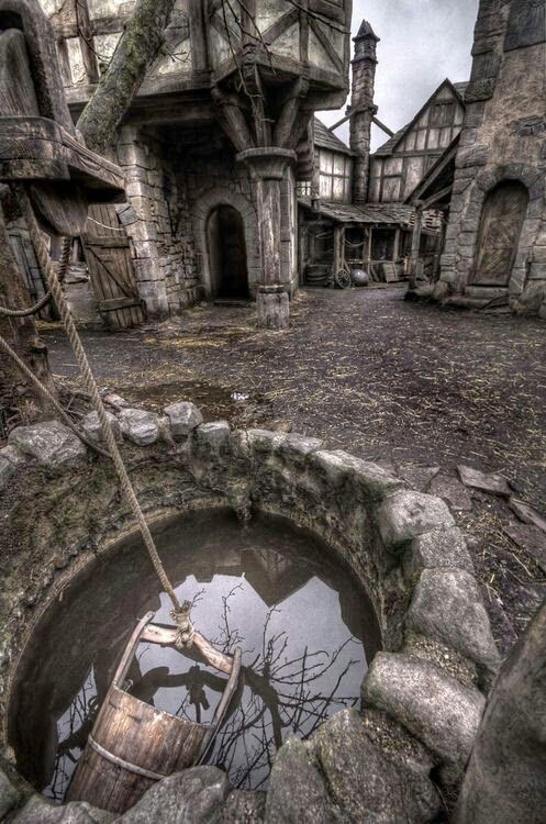 Abandoned In time - Abandoned... Village in Scotland! Oh how I would love to go and walk thru this place.