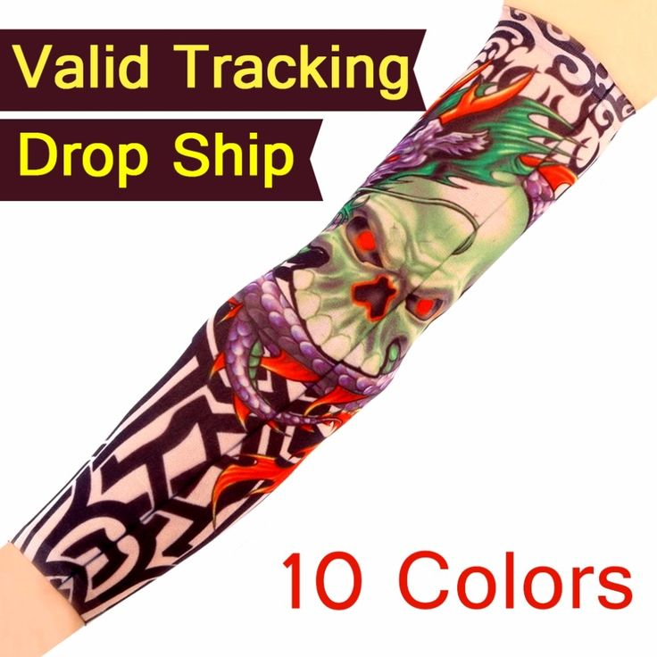 2.69$  Watch more here - http://www.goodshopping.top/redirect/product/os7kwd3e8e8pp1lhxj69gfex60npcmun/32788859880/en - Multi colors Superfine fiber elastic Fake tattoo sleeve Arm stockings temporary tatoo Sport Skins Sun Protective Drop Shipping   #magazineonlinebeautiful