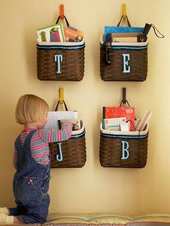 子ども部屋の収納って、簡単で分かりやすいですよね。「がんばらない収納」が目指すのは、まさにそこ。小さな子供でも片付けられるような状態にすれば、きっと片付け下手さんでも整頓上手になれますよ。