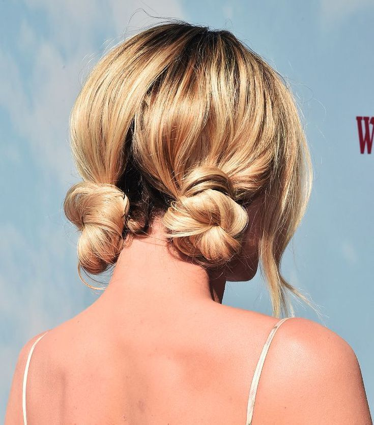 10 Cool (and Easy) Buns That Work for Short Hair