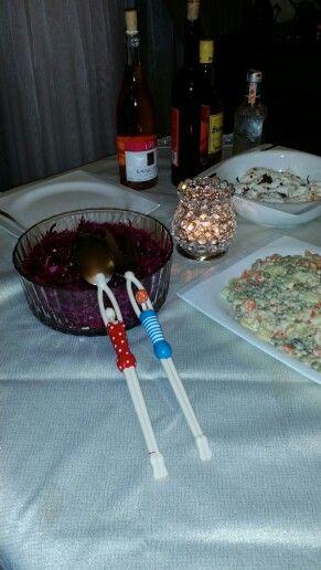 Guliz's lovely salad forks