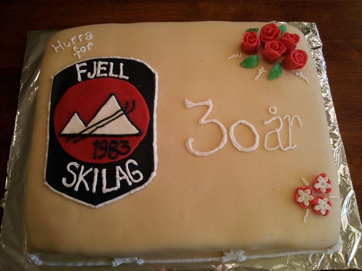 Celebrating Fjell skilags (Fjell skiteam) 30 years anniversary.