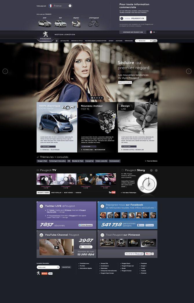 Peugeot - Pfer - Interactive Art Direction