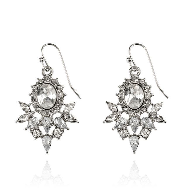WILLOW LANE EARRINGS - SILVER