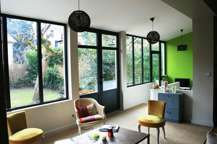 Best 10 menuiserie aluminium ideas on pinterest portail for Agrandissement fenetre