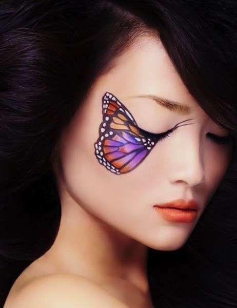 Idee make up farfalla per Carnevale  (Foto 29/40) | Donna