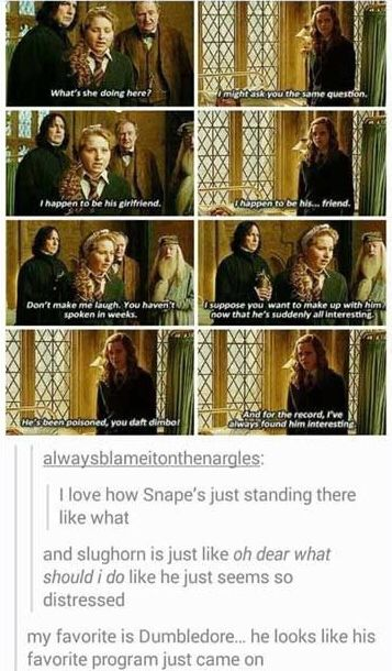 But Hermione pretty much just admitted she's always liked Ron!!!!! :D