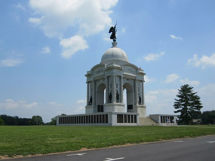 Gettysburg National Park - Pennsylvania Monument