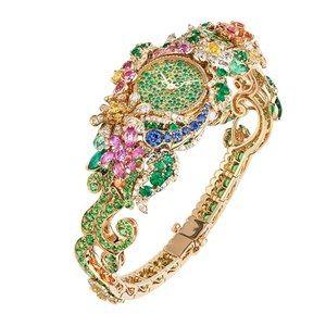 「ディオール」ヴェルサイユ宮殿の庭園が着想のハイジュエリー、瑞々しい草花をダイヤモンドやエメラルドで - 画像23