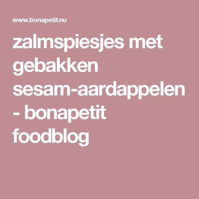 zalmspiesjes met gebakken sesam-aardappelen - bonapetit foodblog