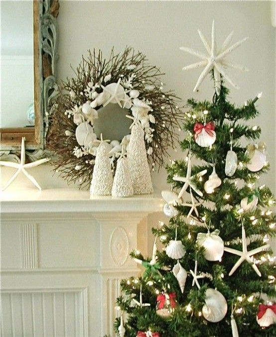 Best 25+ Beach Christmas Decor Ideas On Pinterest