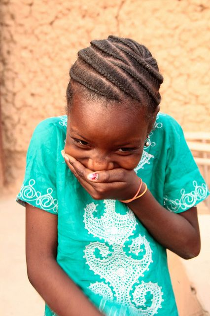 Giggles in Nigeria--look at rounded corn rows. Could be good for Berylians.