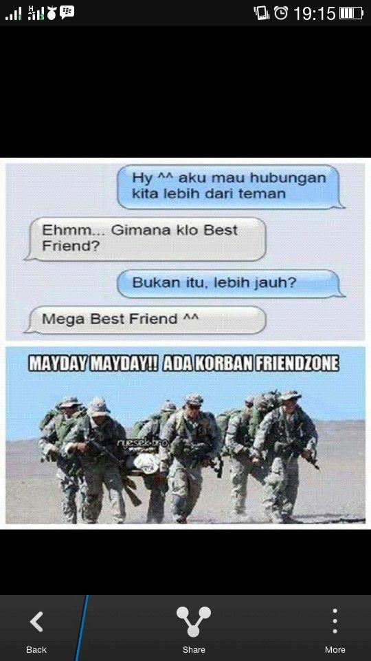 Friends zone