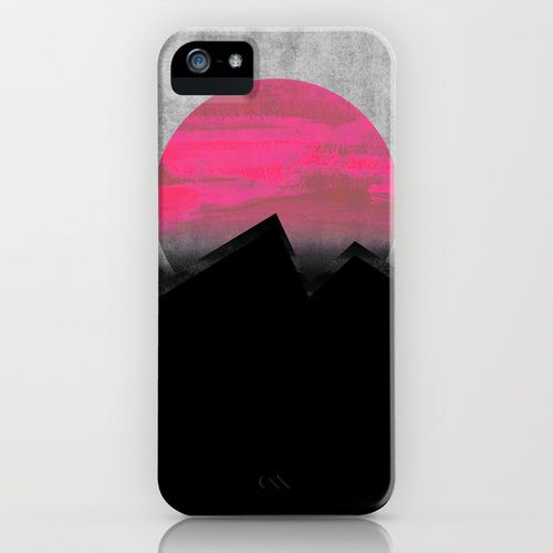 Pink Sun iPhone & iPod Case by Georgiana Paraschiv | Society6