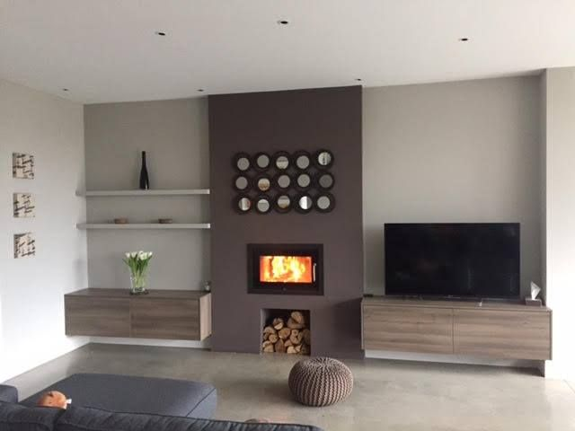 Rais 2:1 double sided inset stove.