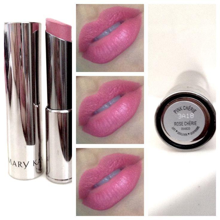 Love my MaryKay Rose Cherie Lipstick... Amo esse rosinha :)