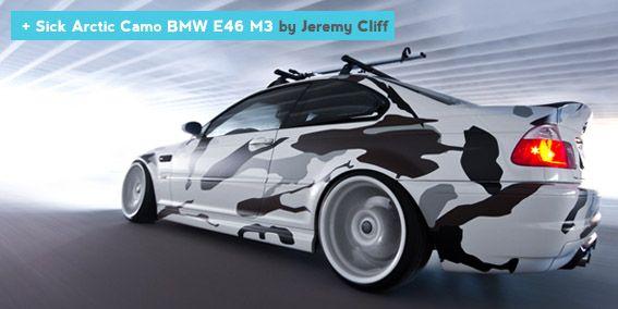 Sick Arctic Camo BMW E46 M3