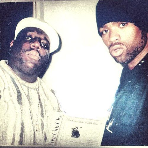 "Biggie & Method Man. I was listening to ""The What"" this morning."