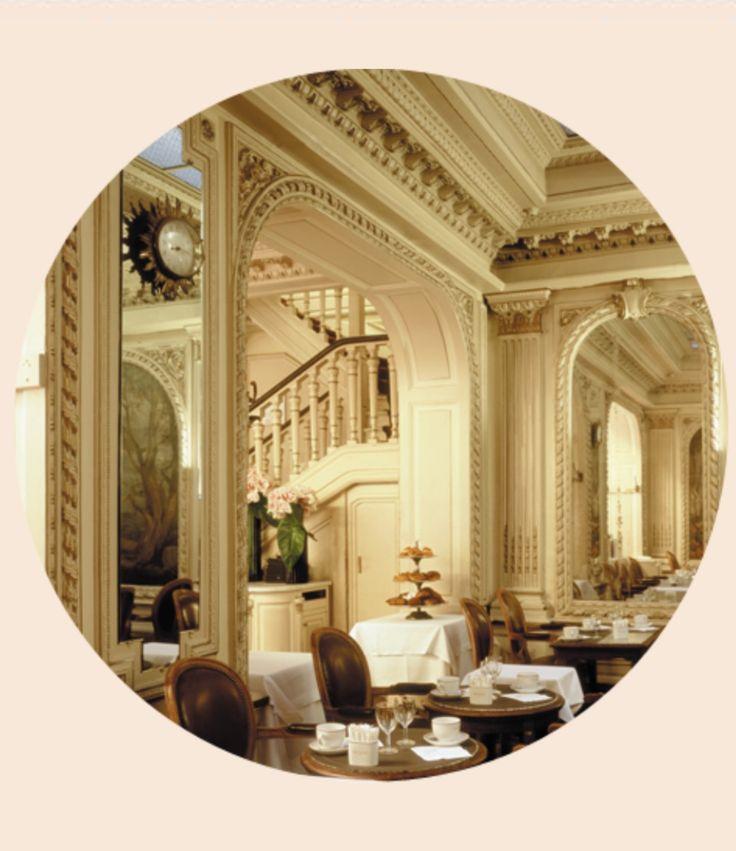 Salon de th angelina un incontournable rue de rivoli paris eat in france pinterest - Salon de the rue de rivoli ...