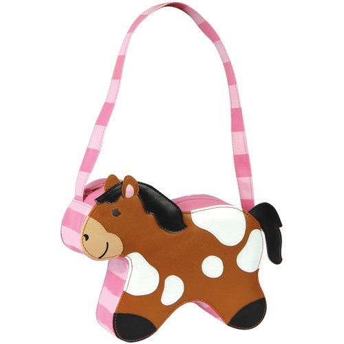 Stephen Joseph Girls Go-Go Horse Purse