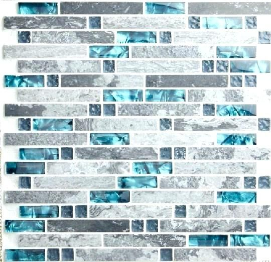 Aqua Backsplash Tile Blue Tile Blue Shell Tile Glass Mosaic Kitchen Tiles Grey Stone Bathroom Mosaic Backsplash Kitchen Glass Mosaic Tile Kitchen Teal Kitchen