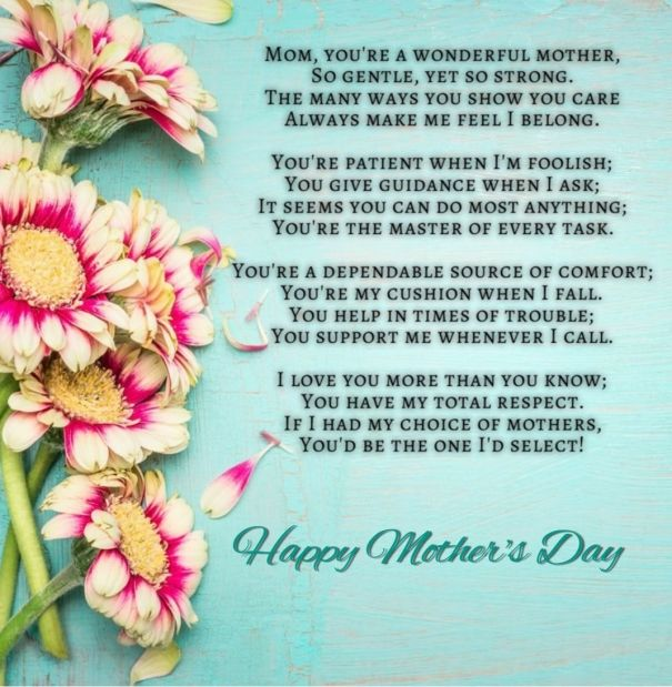 Best 25 Birthday Poems Ideas On Pinterest: 25+ Best Ideas About Mother Poems From Daughter On