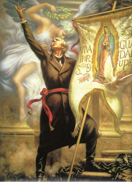 "Miguel Hidalgo y Costilla, a Catholic priest, launches the Mexican War of Independence with the issuing of his Grito de Dolores, or ""Cry of Dolores,"" The revolutionary tract, so-named because it was publicly read by Hidalgo in the town of Dolores, called for the end of 300 years of Spanish rule in Mexico, redistribution of land, and racial equality."