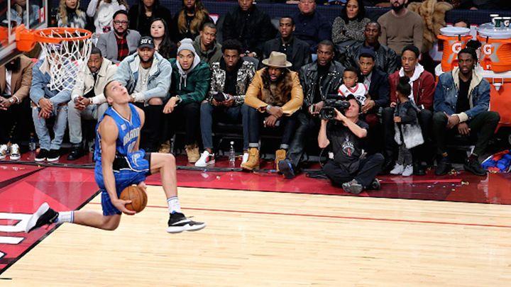 #NBA Aaron Gordon; slam dunk contest