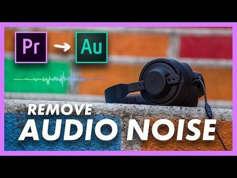 How to Remove Audio Noise | FREE without plugins I Adobe Premiere