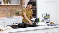 Vijaya teaches us how to whip up delicious and creative dishes using only a handful of kitchen and pantry basics