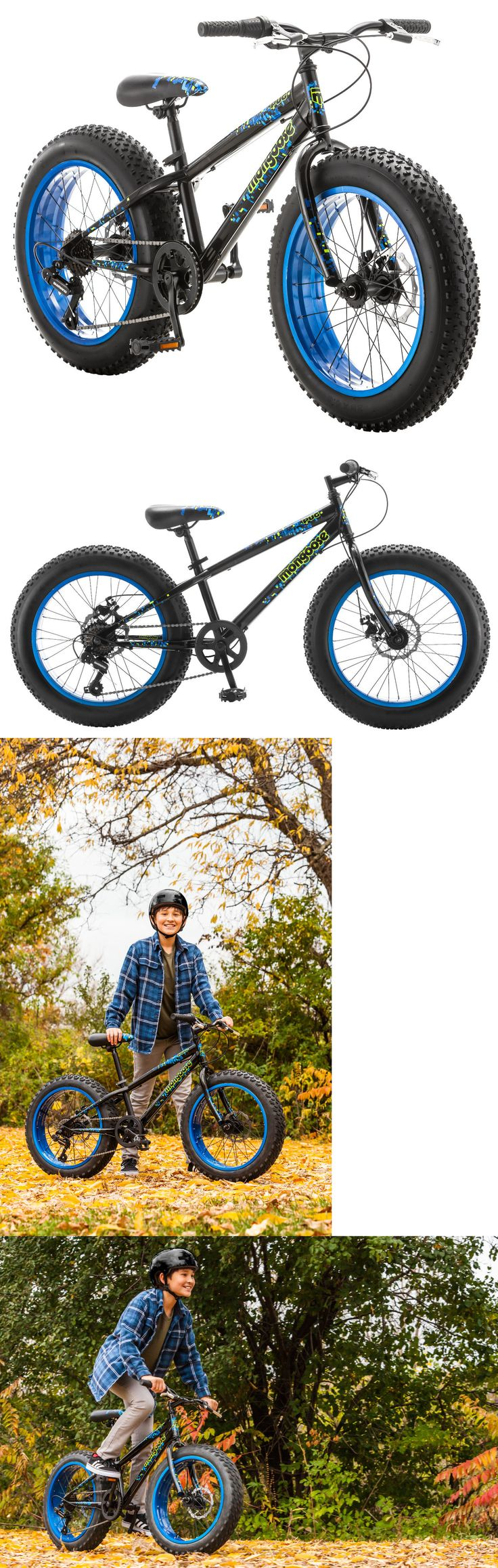 Bicycles 177831: 20 Mongoose Pug Fat Tire Bike Disc Brakes, Black -> BUY IT NOW ONLY: $179.99 on eBay!