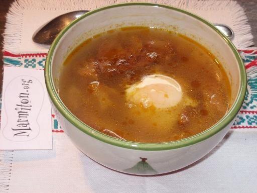 Soupe à l'ail (Espagne)