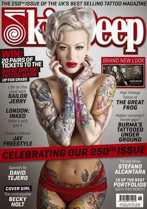 37 best tattoo magazines images on pinterest tattoo for Best tattoo magazine