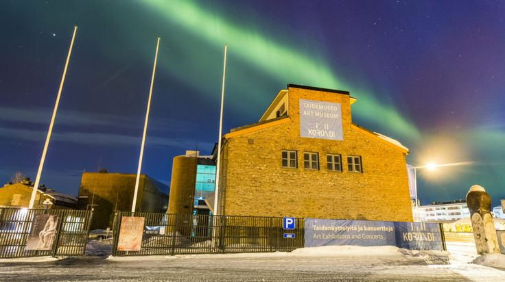 Korundi House of Culture -Rovaniemi, Lapland, Finland