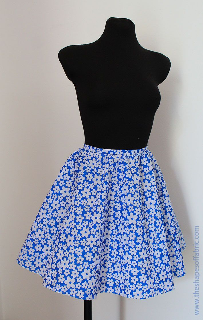 75d65ee55 Conquer circle skirt patterns - The Shapes of Fabric | Crafts ...