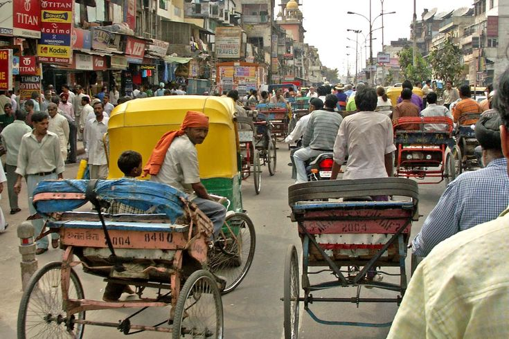 One of the main markets of Delhi is Chandni Chowk
