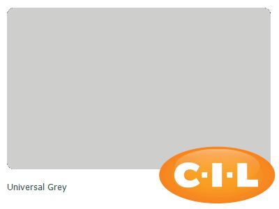 Look at this gorgeous CIL paint colour I found at CIL.ca! It's Universal Grey 00NN 62/000.