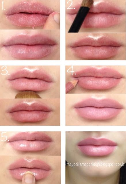 how to make thin lips look fuller naturally