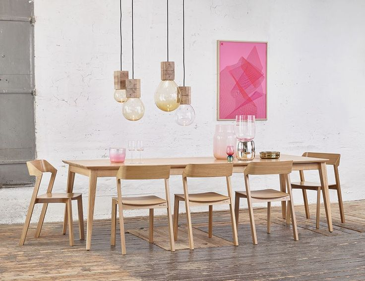 Solid European Oak Extendable Dining Table