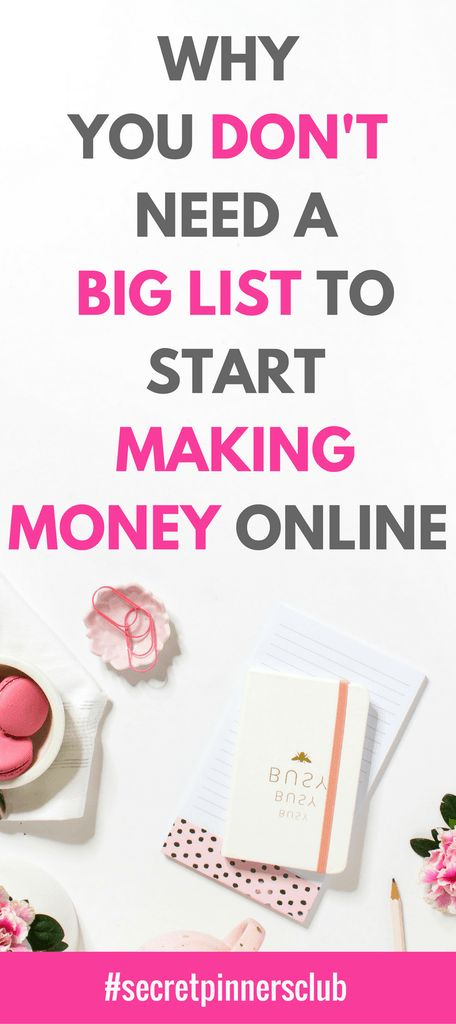 In this post I dispell the myth that you need to build your list before you can start making money online. This second post in the passive pinterest series will show you how you can get paid to build your list.