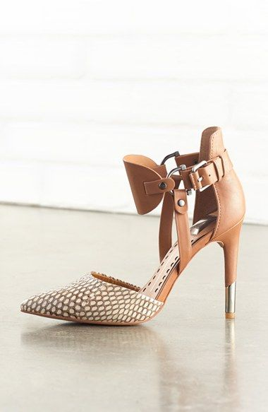 'Knoxx' Leather Pump