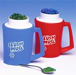 Slush Mug - Blue . Used to have these. Put in freezer, fill , and scrape sides.  Want for kids $10