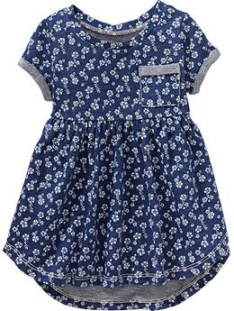 Floral High-Low Terry Dresses for Baby | Old Navy
